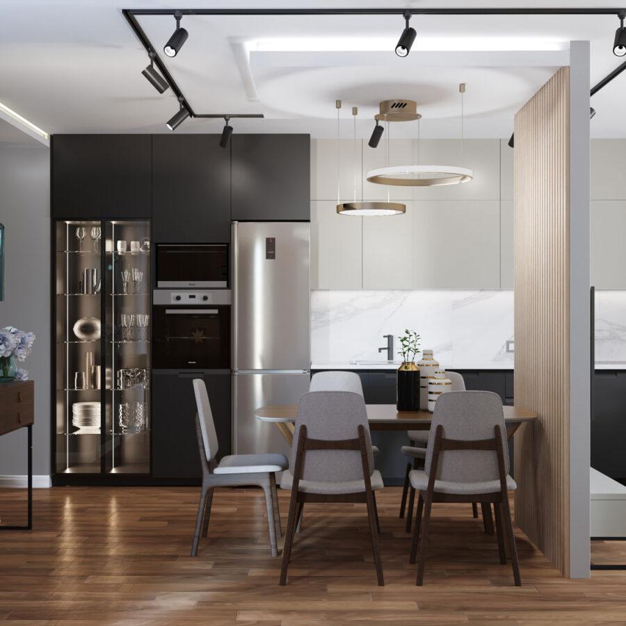 2 комнатная квартира в ЖК Ньютон